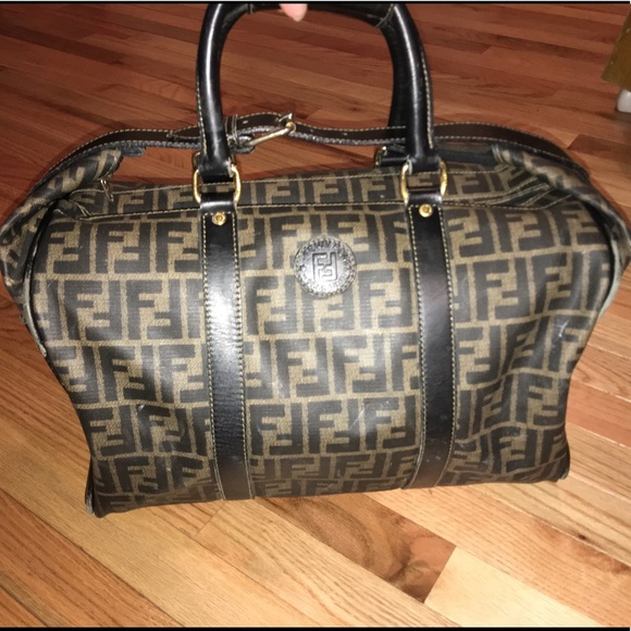 e174e956073 Fendi Bags   Vintage Zucca Travel Weekender Duffle Bag   Poshmark